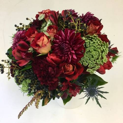 Red-Wedding-Posy-Resonate-Designs